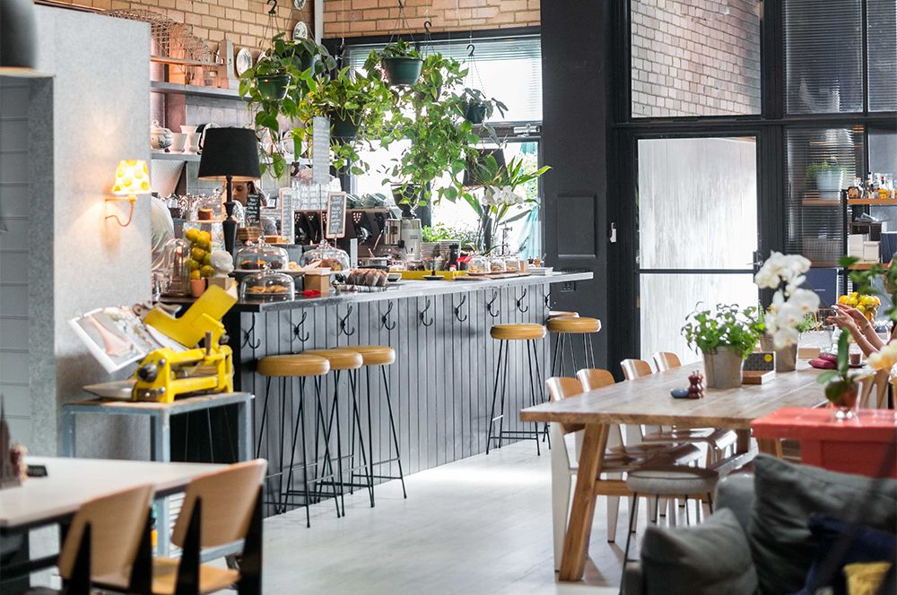 Sustainable Melbourne Cafe